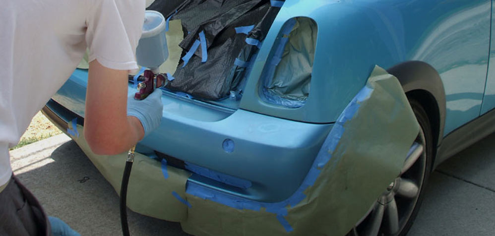 Bumper and paint repairs for Surrey & Middlesex